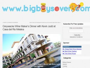 Casa del Rio was featured in the blog BigBoysOven