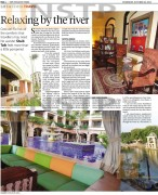 New Straits Times Online - Relaxing by the river