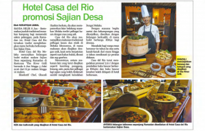 Melaka Hari Ini Article for Sajian Desa Media Review